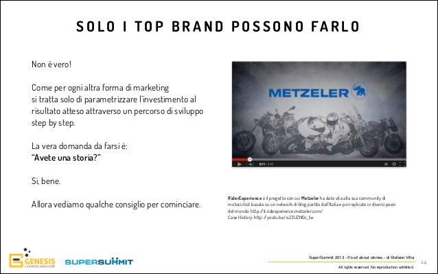 S O L O I T O P B R A N D P O S S O N O FA R L O Non è vero! !  Come per ogni altra forma di marketing si tratta solo di p...