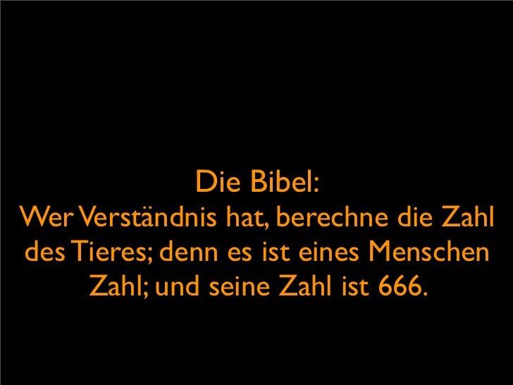 Bibel über das böse