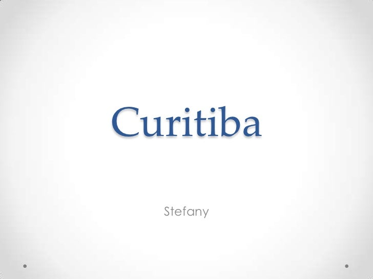 Curitiba  Stefany