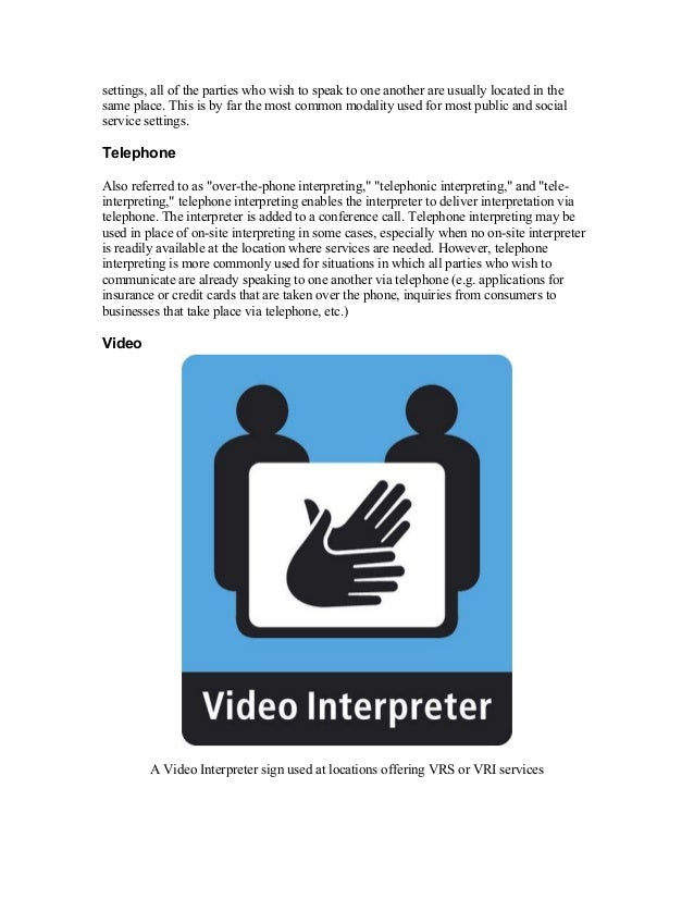 Stefany Dodd How To Become A Interpreter And Translator A