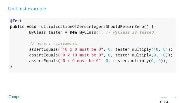 13.04.17 15 Unit test example