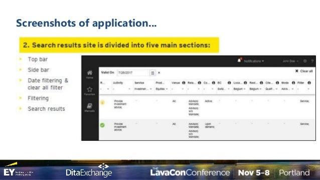 LavaCon 2017 - Transform Your 1200 Page PDF into Executable