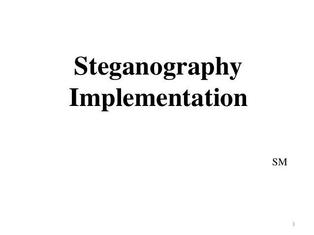 SteganographyImplementation                 SM                      1