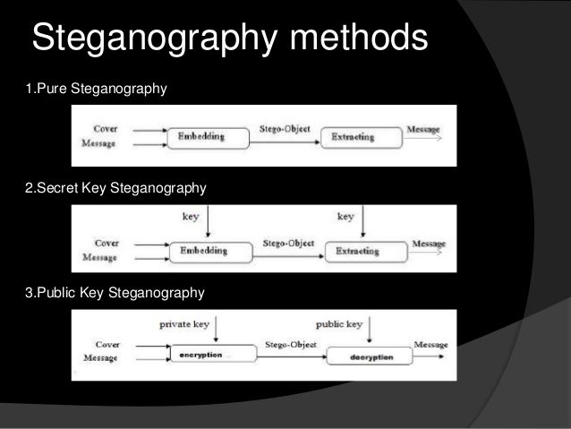 steganography examples An introduction to steganography methods  for example, the following grid can be considered as 3 pixels of a 24-bit color image, using 9 bytes of memory:.