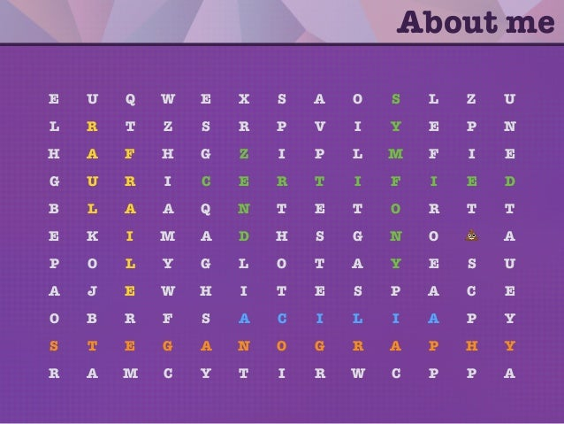 Steganography: Hiding your secrets with PHP Slide 2