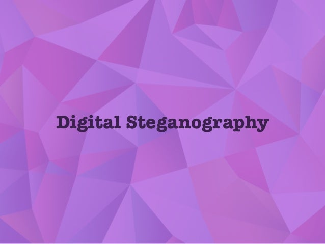 Digital Steganography
