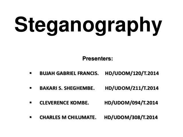 steganography using text embedding in sound All over the world now use steganography for security and forensics with steganography data embedding in accessible avi sound video document.