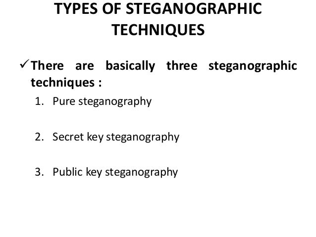 modern steganography Cse 207: slides the course materiel and syllabus is represented by the slides which are covered in lecture and can be found below this is the materiel you are responsible for understanding.