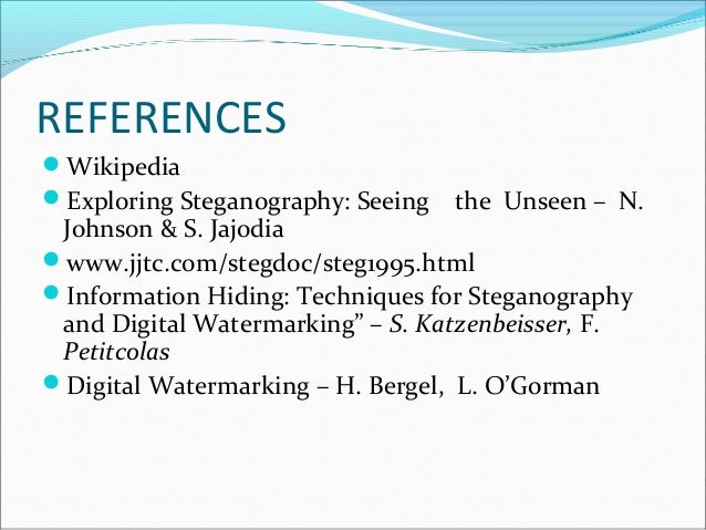 An overview of steganography for the computer forensics examiner
