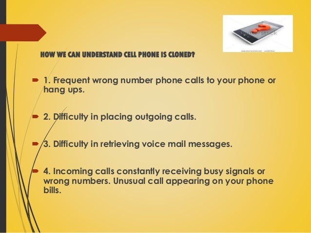 mobile phone cloning This is a ppt on mobile cloning which is an emerging technologythis technology is being used widely these days,and also this technology offers great help tow.
