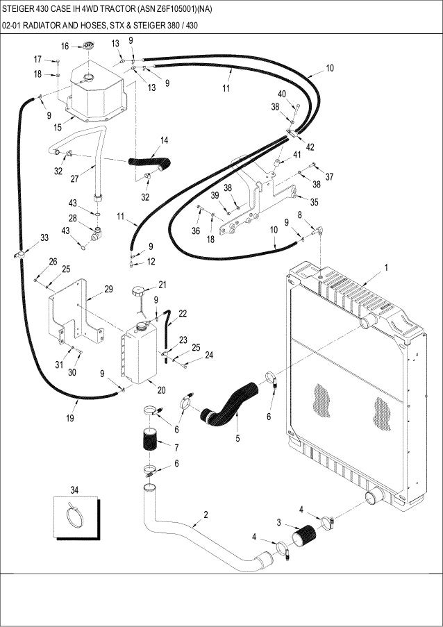 steiger 430 case ih 4wd tractor parts catalog 1964 ford 5000 tractor wiring diagram steiger tractor wiring diagram