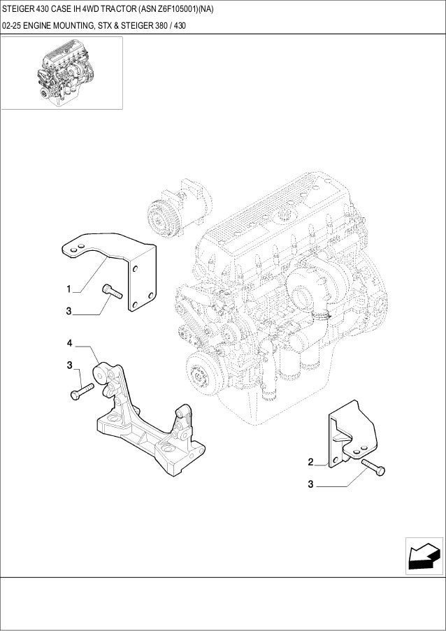 Kubota B2620 Tractor Parts Diagram