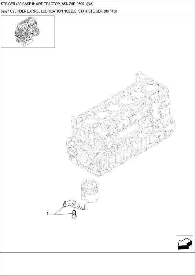 steiger 430 case ih 4wd tractor parts catalog rh slideshare net