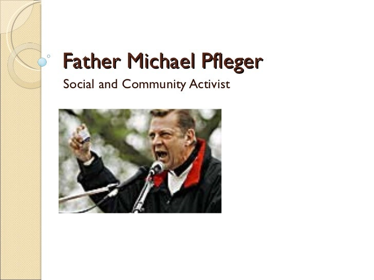 Father Michael Pfleger Social and Community Activist