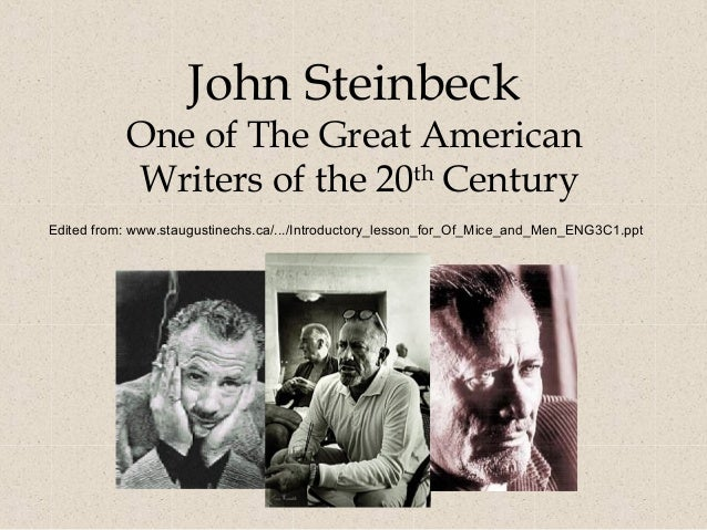 annotated bibliography of john steinbeck The grapes of wrath study guide contains a biography of john steinbeck, literature essays, quiz questions, major themes, characters, and a full summary and analysis.