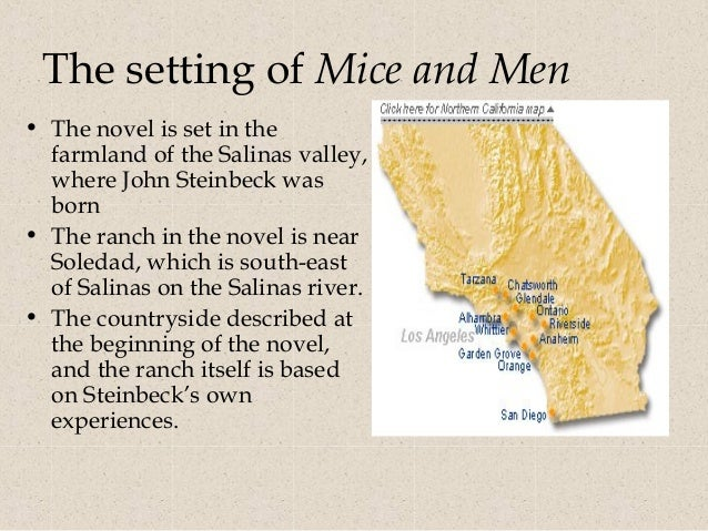 underdogs in of mice and men Free essay: of mice and men is a book about two men and their struggle to achieve their dream of owning a small ranch through their.