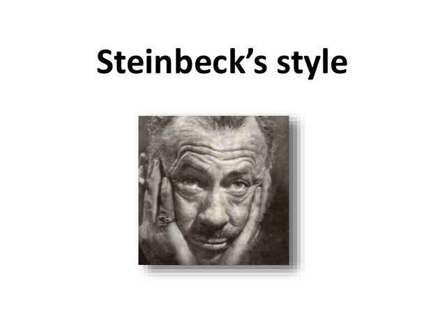 Steinbeck's style