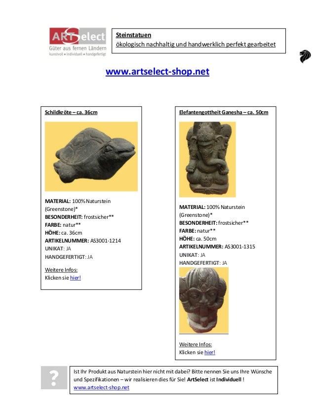 Steinstatuen ökologisch nachhaltig und handwerklich perfekt gearbeitet  www.artselect-shop.net  Schildkröte – ca. 36cm  MA...