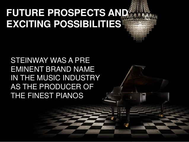 marketing analysis report on steinway sons Steinway & sons: buying a legend ¢ñ statement of problems and issues summary for 140 years, steinway & sons has set the standard for the quality manufacture of pianos.