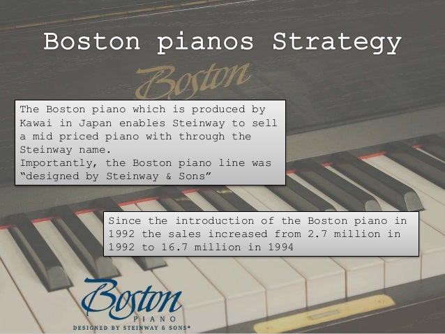 steinway sons buying a legend swot analysis Steinway & sons (2) - download as powerpoint presentation (ppt / pptx), pdf file (pdf), text file (txt) or view presentation slides online.