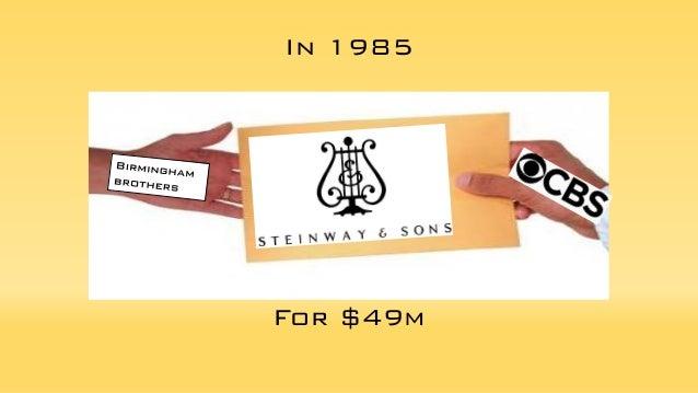 Steinway SWOT