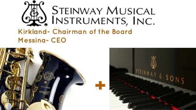 steinway and sons buying a legend a Steinway and sons - a strategic overview - business/marketing bibliographies - in harvard style  steinway & sons: buying a legend 1999 - harvard business school.