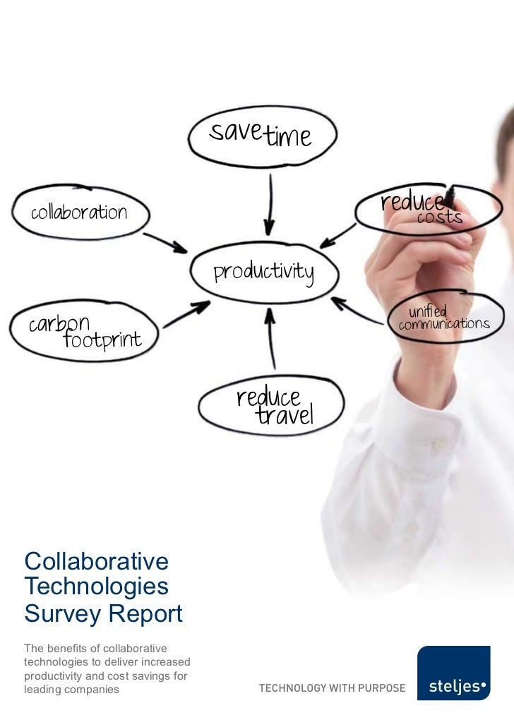 Collaborative Technologies Survey Report                                           save time   collaboration              ...