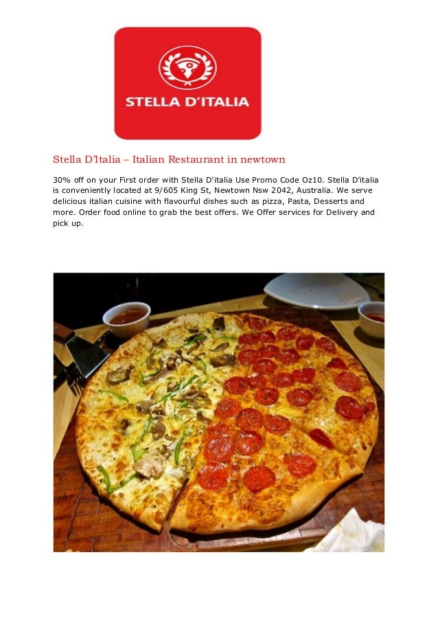 Stella d'italia - Italian Restaurant