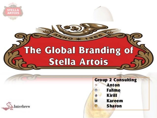 the global branding of stella artois