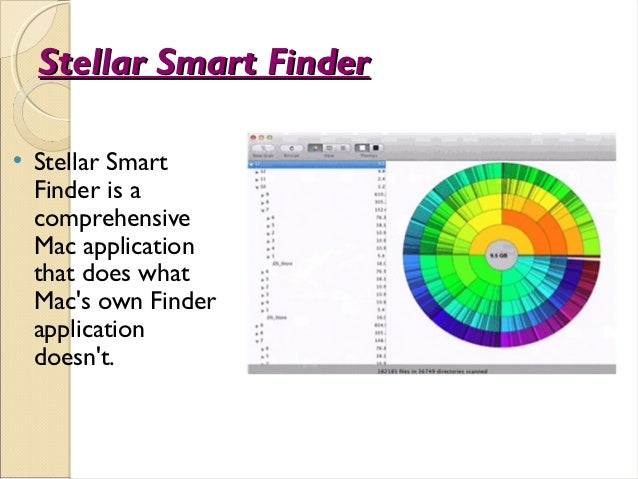 Stellar Smart Finder    Stellar Smart    Finder is a    comprehensive    Mac application    that does what    Macs own Fi...