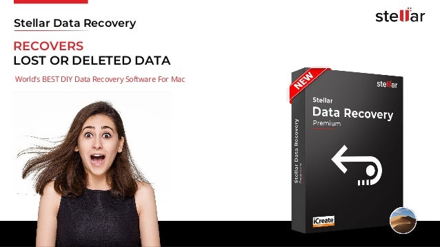 RECOVERS LOST OR DELETED DATA World's BEST DIY Data Recovery Software For Mac Stellar Data Recovery