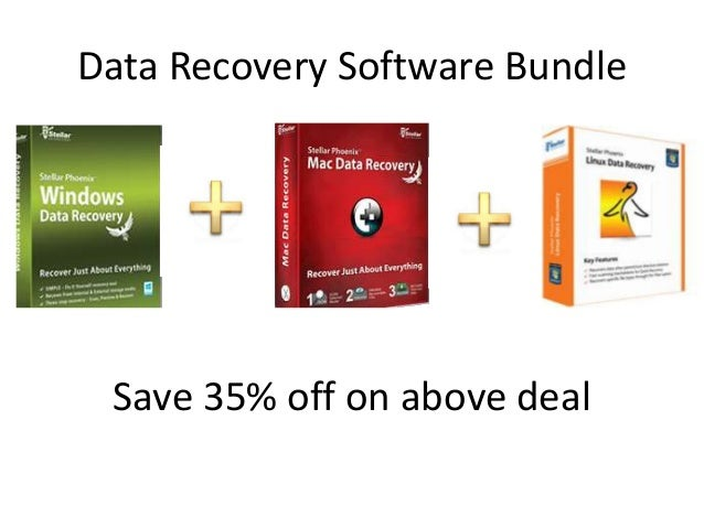 Data Recovery Software Bundle Save 35% off on above deal