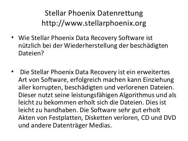 Stellar phoenix pst reparatur Slide 3