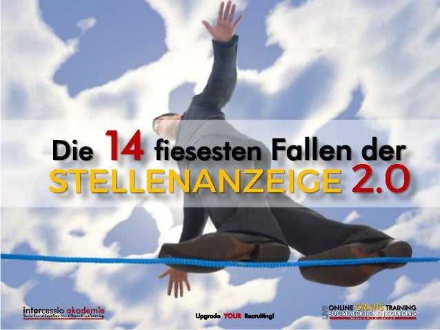 Upgrade YOUR Recruiting!  Die 14 fiesesten Fallen der