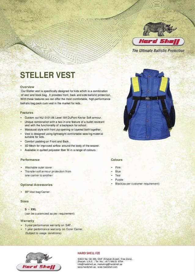 Supplier Shell Hard And Manufacturer Steller Vest GUVqzMpS
