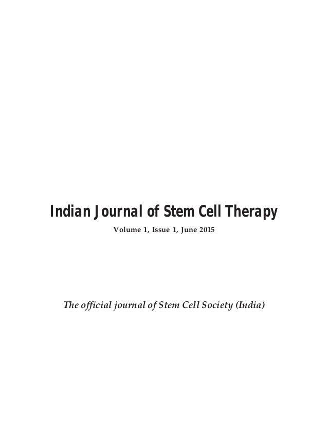 Stem cell-society-of-india-journal-june-2015
