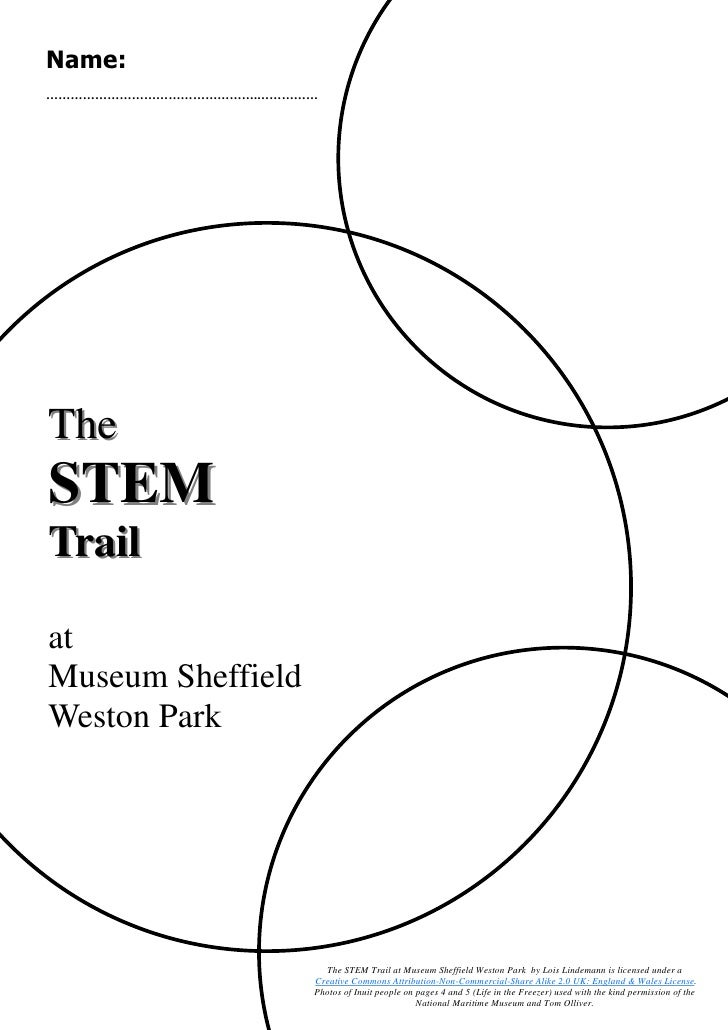 Name: …………………………………………….……………     The STEM Trail  at Museum Sheffield Weston Park                             The STEM Tra...