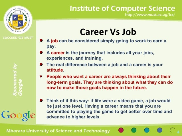 jobs vs careers - Job Vs Career The Difference Between A Job And A Career