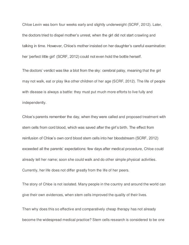 Simple Essays For High School Students Stem Cells Essay Stem Cell Research Legislation Paper Example Topics  Best Essay Topics For High School also How To Write An Essay For High School Essay On Stem Cell Research  Underfontanacountryinncom Simple Essays In English