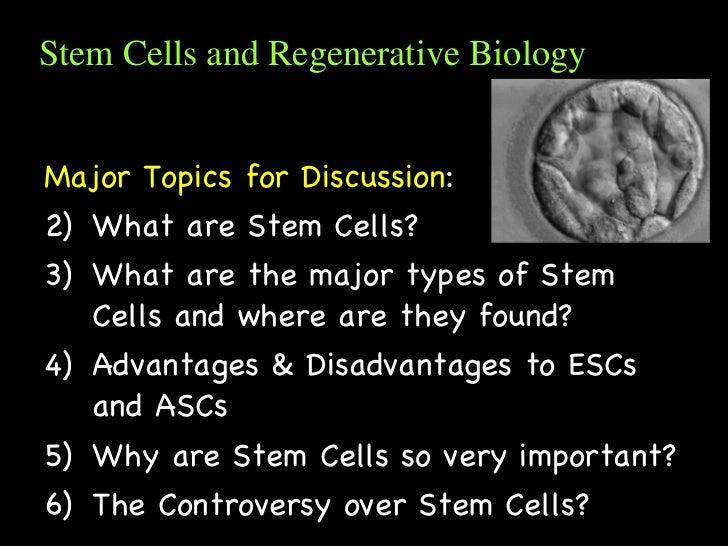 Stem cells background