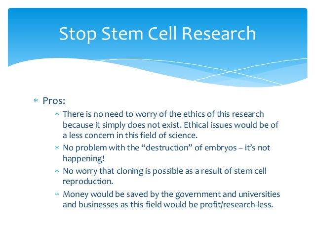 Stem Cells - Ethics Slideshow - Biotechnology
