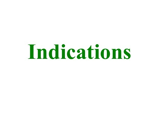 Indications STEM CELL Therapy
