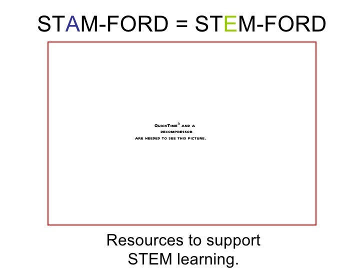 STAM-FORD = STEM-FORD                QuickTimeª and a                  decompressor        are needed to see this picture....