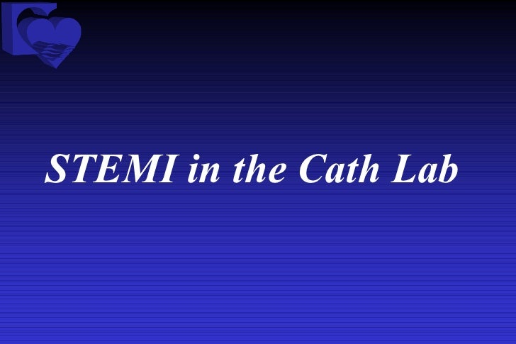 STEMI in the Cath Lab
