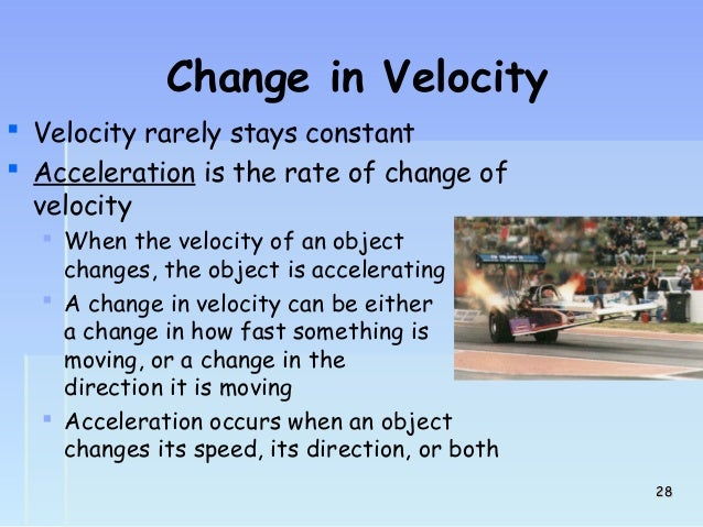 A Car Traveling At Constant Speed Can Change Direction