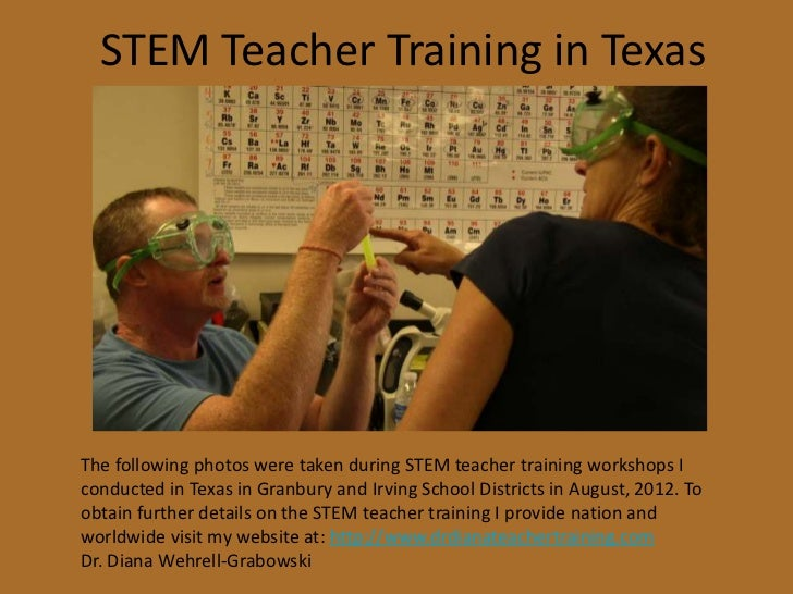 STEM Teacher Training in TexasThe following photos were taken during STEM teacher training workshops Iconducted in Texas i...