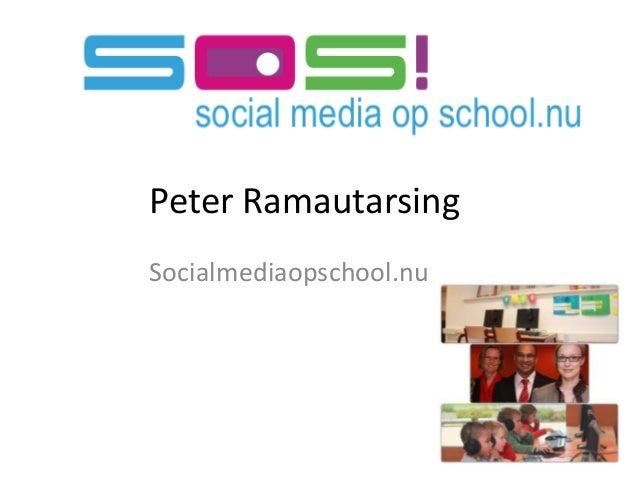 Peter RamautarsingSocialmediaopschool.nu