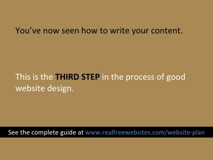 how to write website content about us