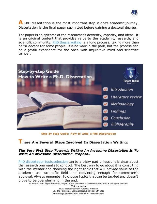 top phd bibliography help