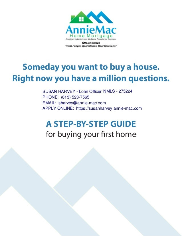 Someday you want to buy a house. Right now you have a million questions. A STEP-BY-STEP GUIDE for buying your first home S...
